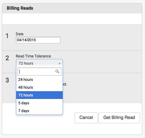 Billing Reads Module