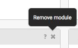 Remove Module