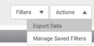 Monitor Page-Actions drop-down