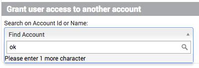 Grant user access