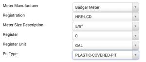 Meter manu details