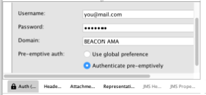 Soap UI authenticate